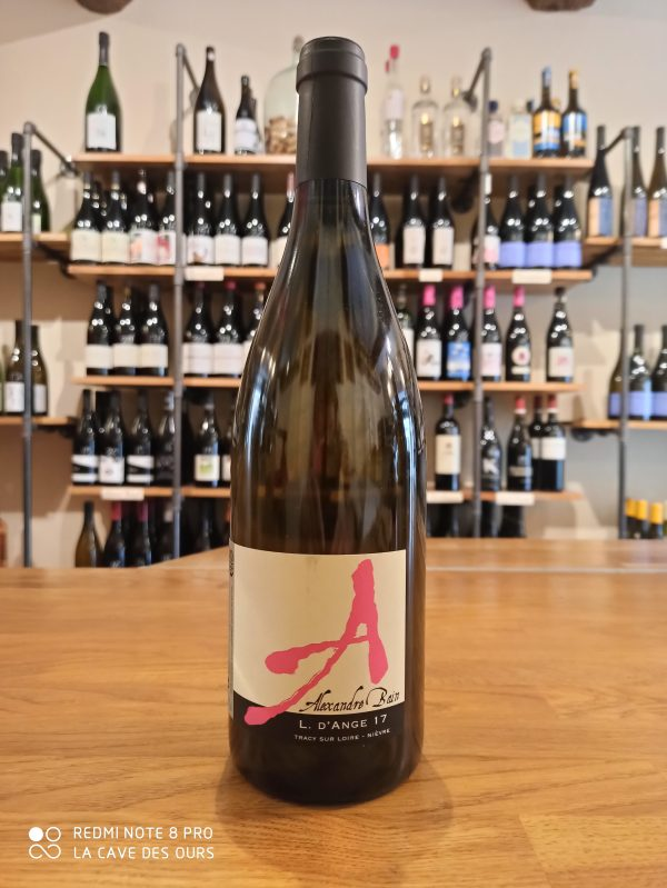 L. d'ange bottle white wine