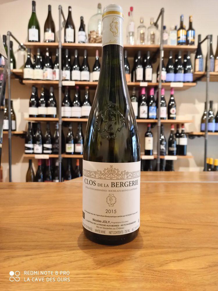 clos de la bergerie bottle white wine