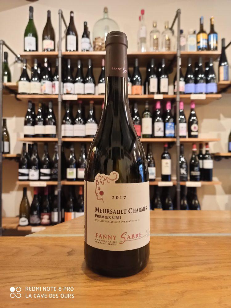 Meursault bottle white wine