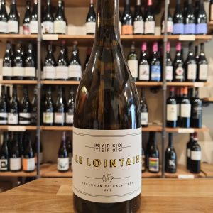 le lointain bottle white wine
