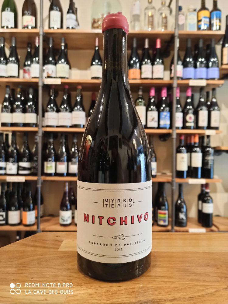 Nitchivo bottle red wine