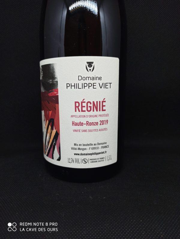 Régnié close up