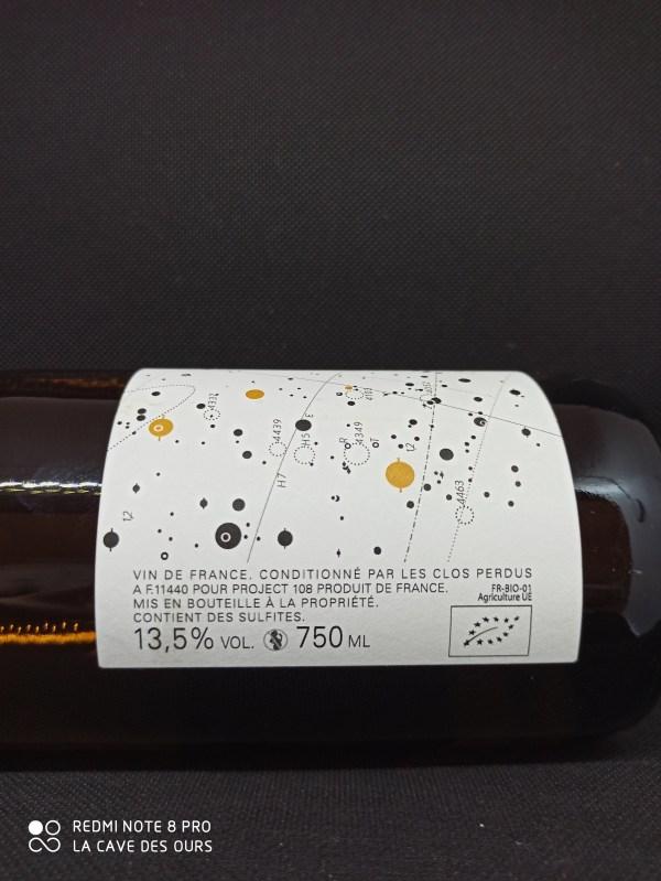 L'anne 19 side of bottle