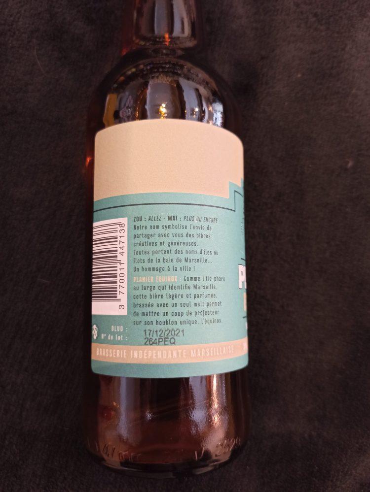 side label planier equinox