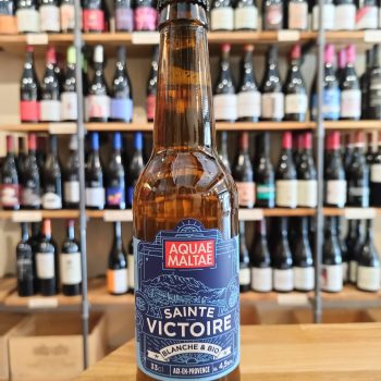 Saint Victoire white beer of aix en provence