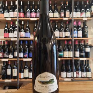 Anarschiste red wine bottle