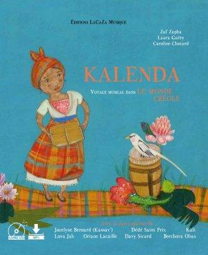 """Livre musical """"KALENDA voyage musical dans le monde Créole"""""""