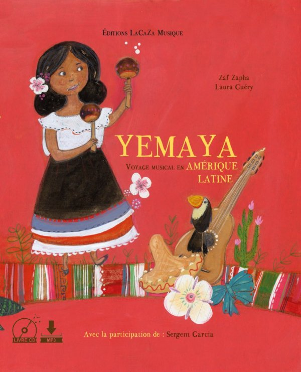 "Livre musical ""YEMAYA voyage musical en Amérique Latine"""