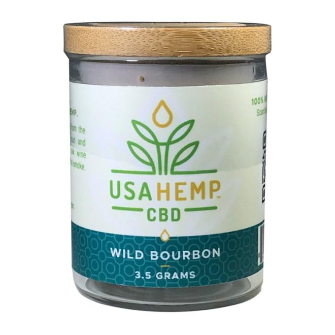 USA Hemp Flowers Wild Bourbon