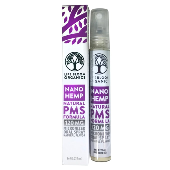 Lifebloom Organics Hemp Oral Spray PMS