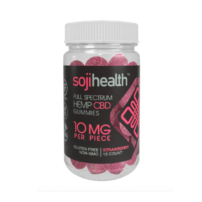 SOJIHEALTH™ GUMMIES STRAWBERRY