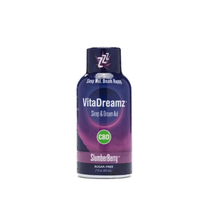 VITADREAMZ CBD Sleep and Dream Aid