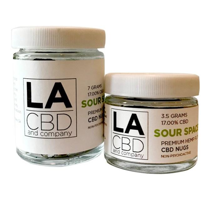 LACBD Sour Space Candy Premium CBD Nugs