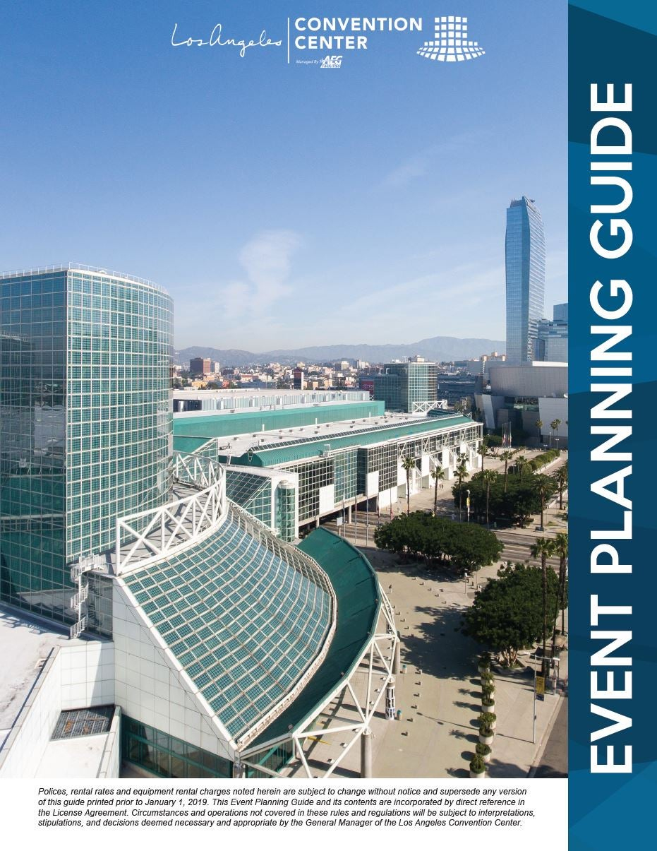 Los Angeles Convention Center Maps : angeles, convention, center, Angeles, Convention, Center, Location, Catalog, Online