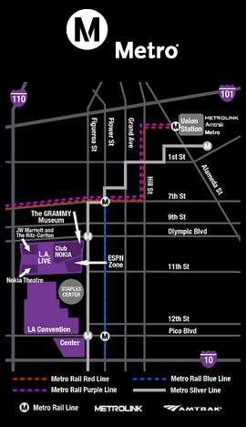Los Angeles Convention Center Maps : angeles, convention, center, Public, Transit, Angeles, Convention, Center