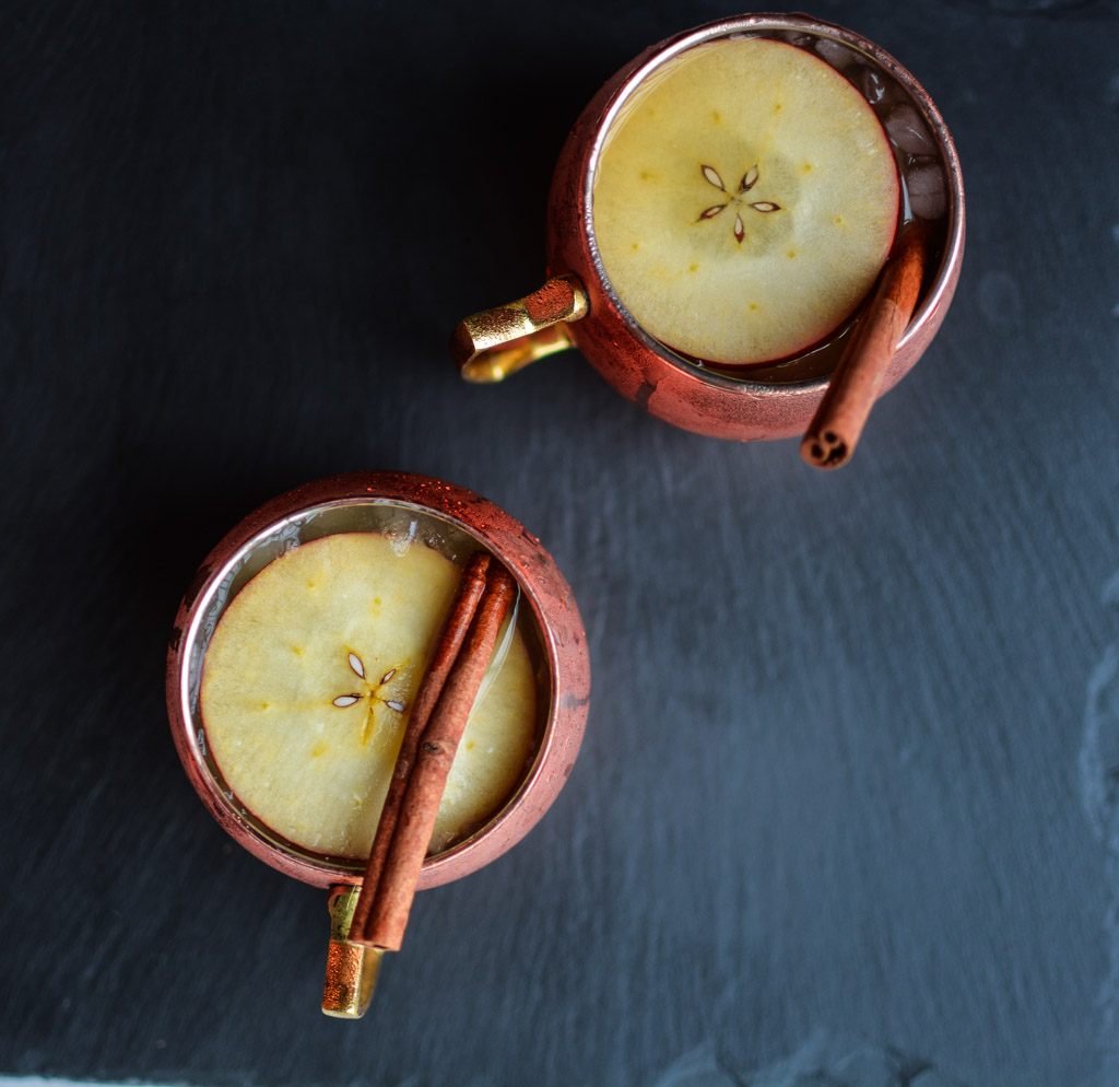 Apple Cider Moscow Mules are the Perfect Fall Cocktail