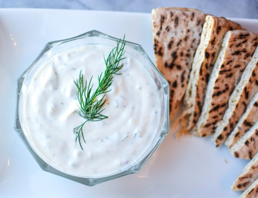 Easy Homemade Tzatziki - Recipes - @lacegraceblog1