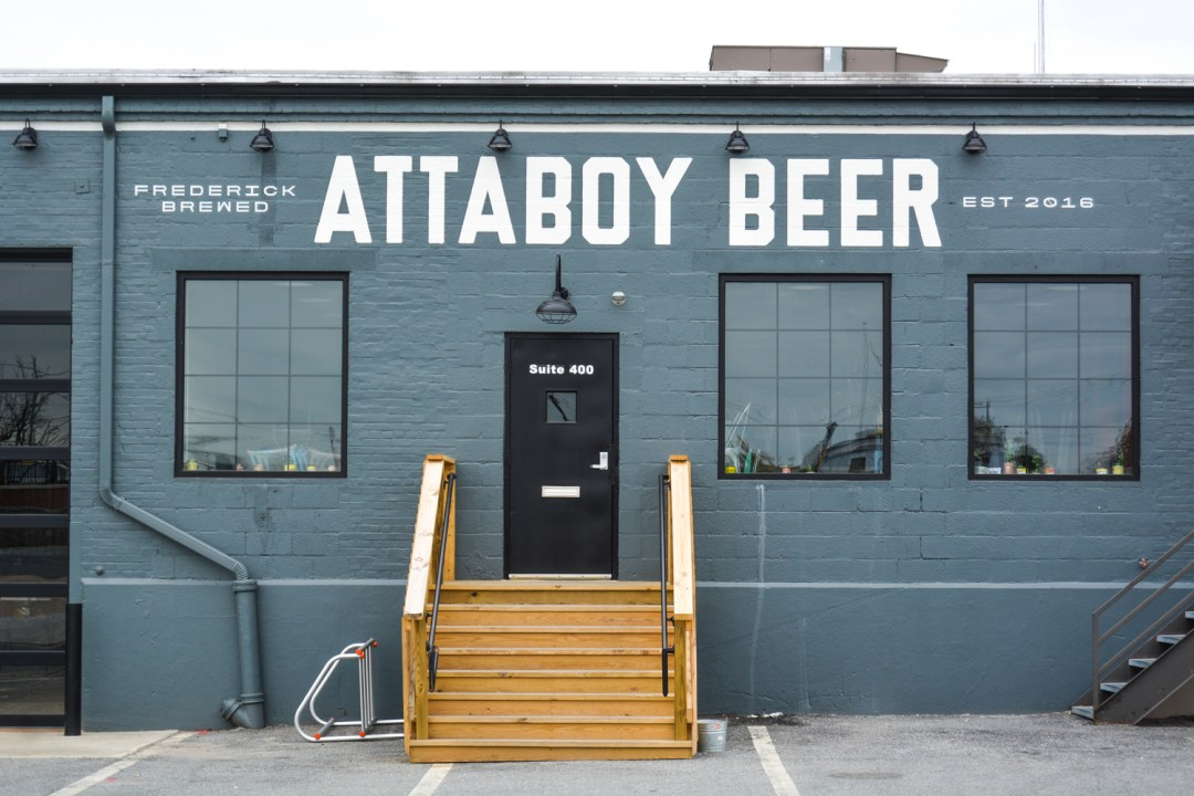 Attaboy Beer in Downtown Frederick - @lacegraceblog1