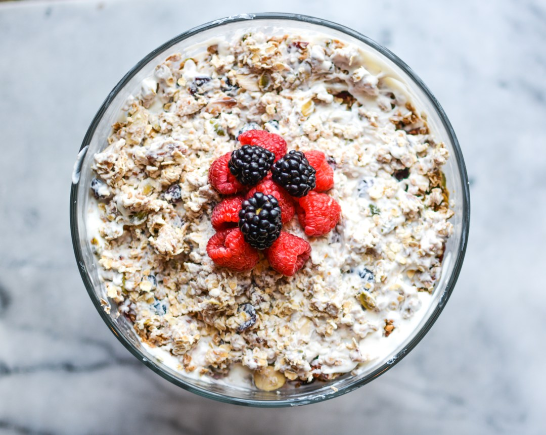 Homemade Granola Fruit and Yogurt Parfait - Recipes - @lacegraceblog1