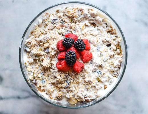 Homemade Granola Fruit and Yogurt Parfait - Recipes - @lacegraceblog1