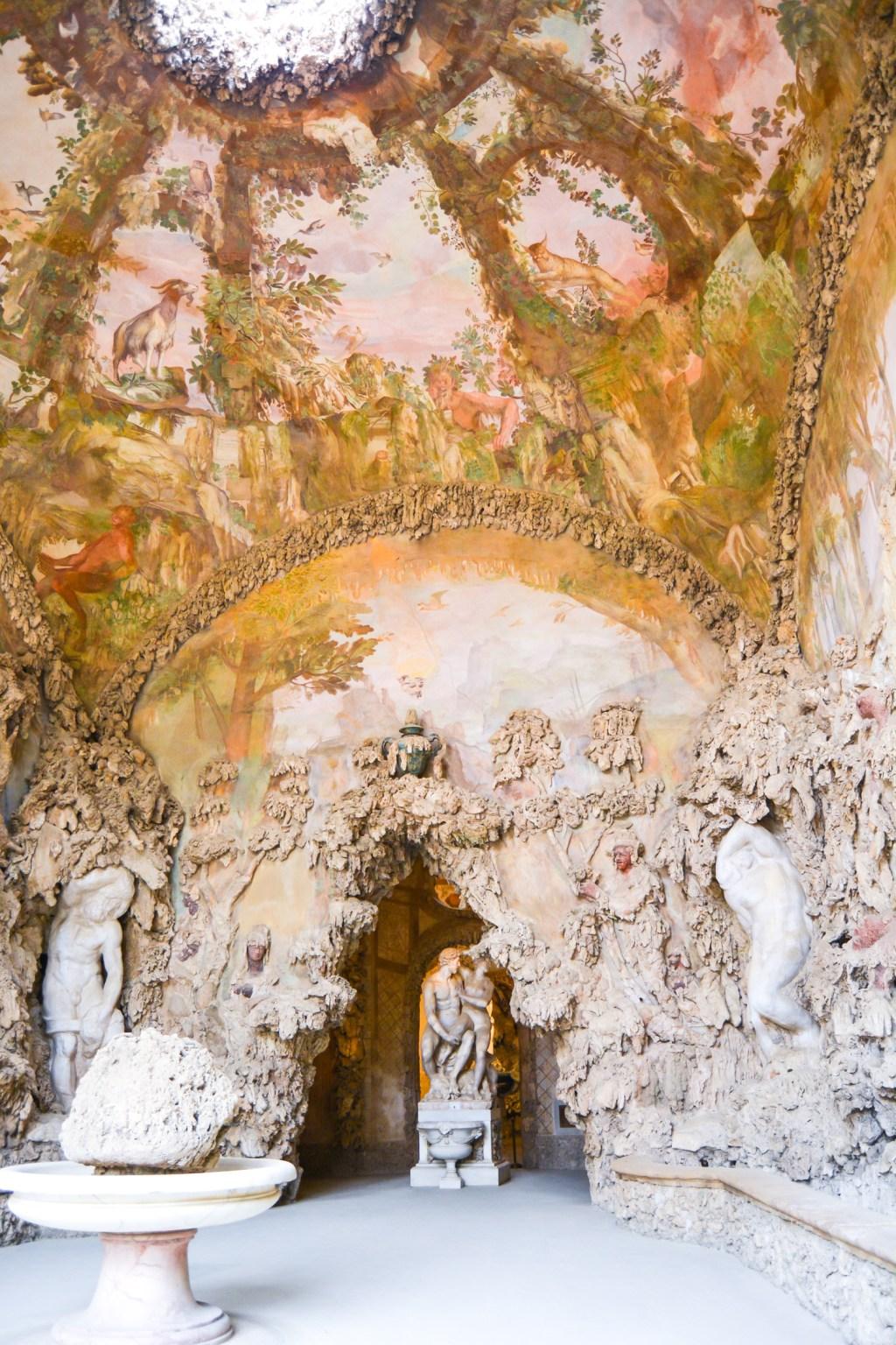 The Boboli Gardens of Pitti Palace- @lacegraceblog1