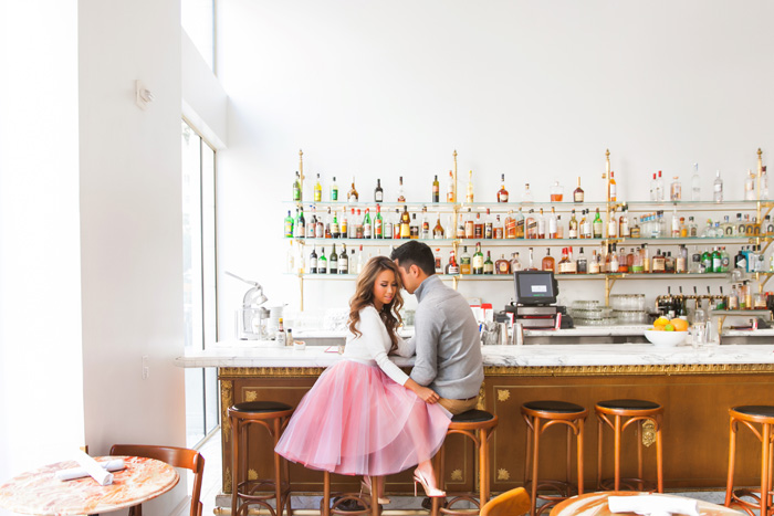 fashion blogger, petite fashion blog, pink tulle skirt, space 46 boutique tulle, valentine's day look, valentine day fashion, engagement session, lace and locks, los angeles fashion blogger, couples fashion, his and hers fashion, christian louboutin glitter, pink fashion