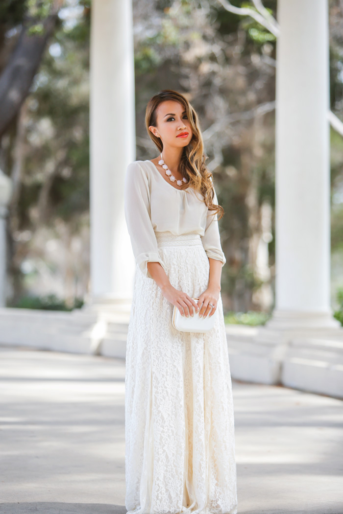 563ccc310413 Lace and locks petite fashion blogger lace maxi skirt -02 – Lace and ...
