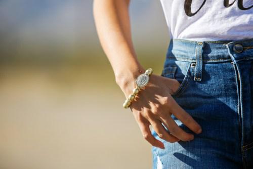 fashion blogger, petite fashion blog, fashionista, lace and locks, los angeles fashion blogger, boyfriend jeans, oui shirt, french shirt, leopard heels, affordable fashion,streetstyle