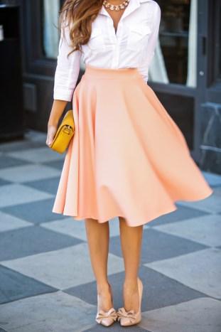 etite fashion blogger, petite fashion blog, fashionista, lace and locks, los angeles fashion blogger, asos skirt, peach skirt, full skirt,vietsun magazine, vietnamese fashion blogger, spring fashion, ace hotel los angeles, affordable fashion,streetstyle