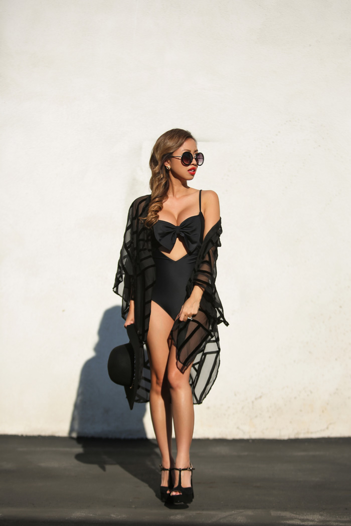fashion blogger, petite fashion blog, fashionista, lace and locks, los angeles fashion blogger, one piece swimsuit, summer fashion, lolli swimwear, morning lavender boutique