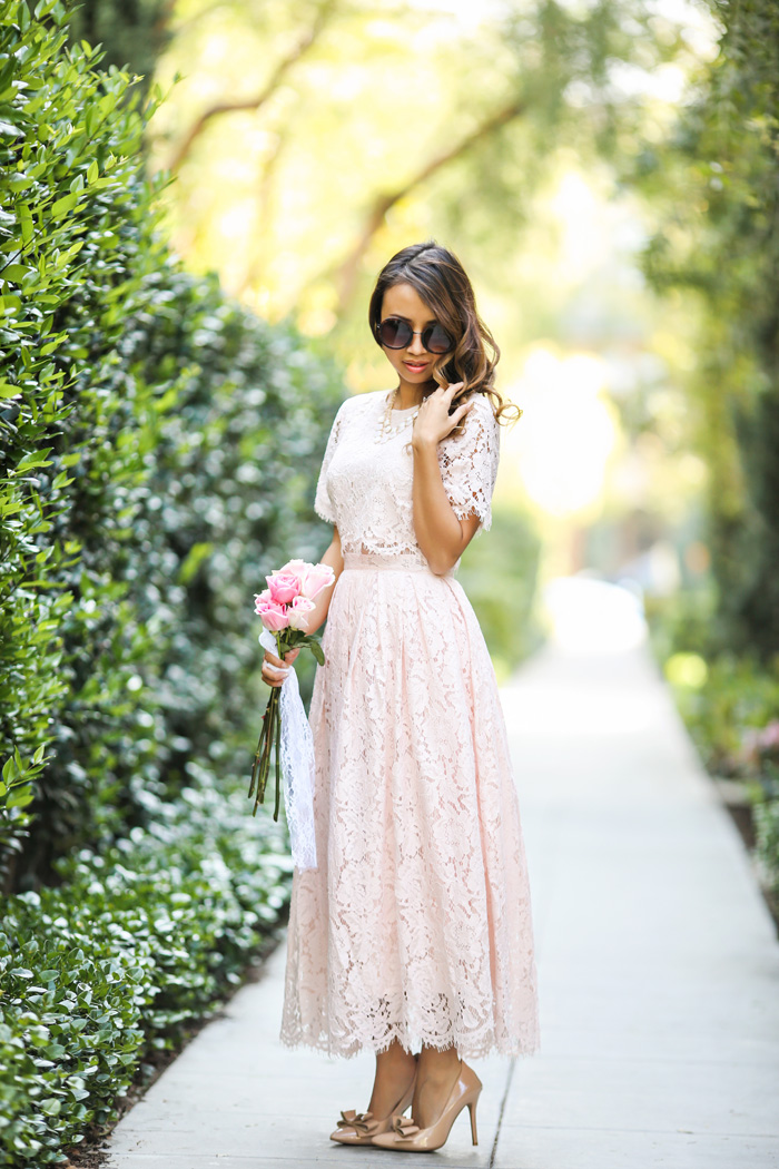 Lace And Locks Blog, Petite Fashion Blogger, Lace Dress