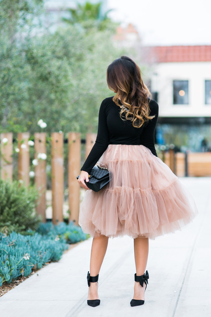 lace and locks petite fashion blogger tulle lace and locks