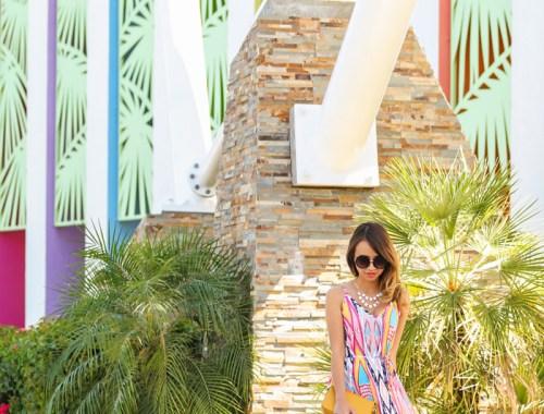 petite fashion blog, lace and locks, los angeles fashion blogger, spring fashion, morning lavender boutique, spring maxi dress, colorful maxi dress, lucy paris maxi dress