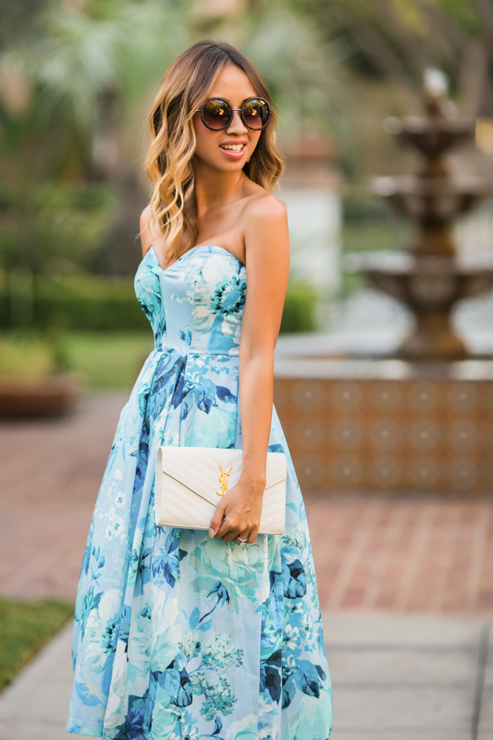 Fashion blog midi dress