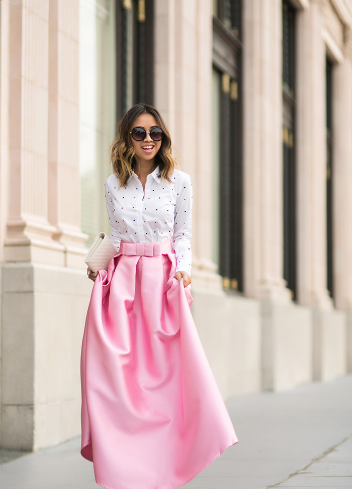 maxi skirt | Lace and Locks