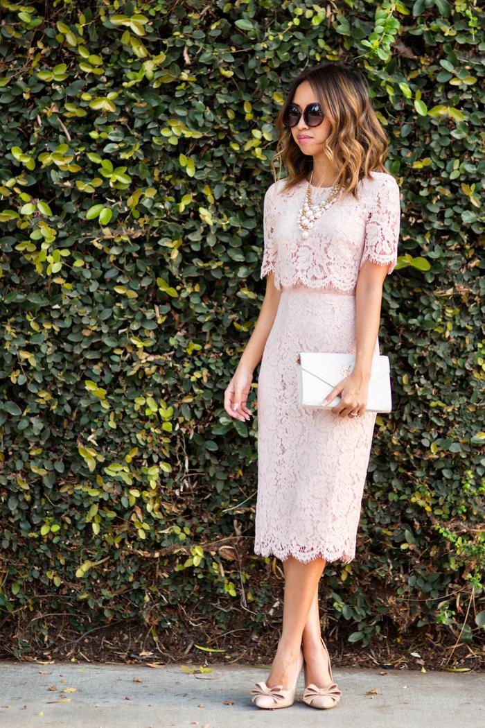 Crop Top Midi Dress