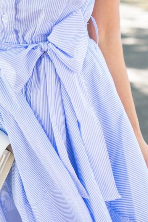 petite fashion blog, lace and locks, los angeles fashion blogger, napa travel diary, napa wine tasting fashion, traveling fashion blogger, fit and flare stripe dress, summer outfit ideas