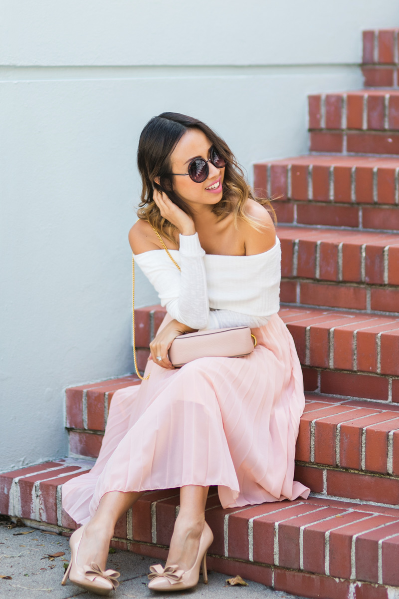 petite fashion blog, lace and locks, los angeles fashion blogger, san francisco travel diary, traveling fashion blogger, san francisco fashion blogger, pink maxi skirt, cute streetstyle