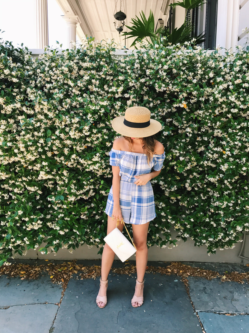 lace and locks, petite fashion blogger, oc fashion blogger, charleston travel, cute spring outfit, cult gaia ark bag, cute mules, cute spring look
