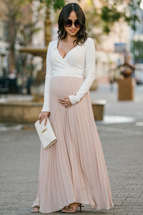 maternity bump style