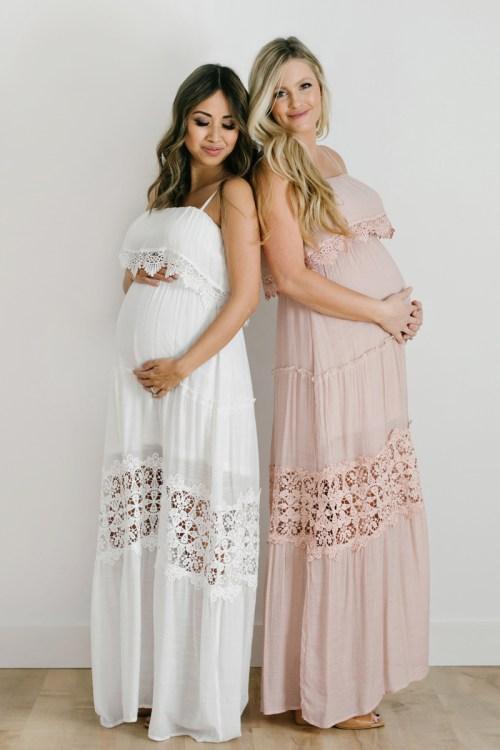 maternity fashion, bump friendly, morning lavender maternity, lace and locks, petite fashion blogger, maternity maxi dress