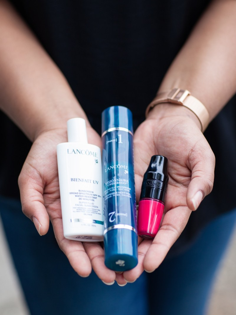 I recently had the opportunity to try three new Lancome products. All of them were top notch and deserve a proper review. I'll definitely be repurchasing them in the future.