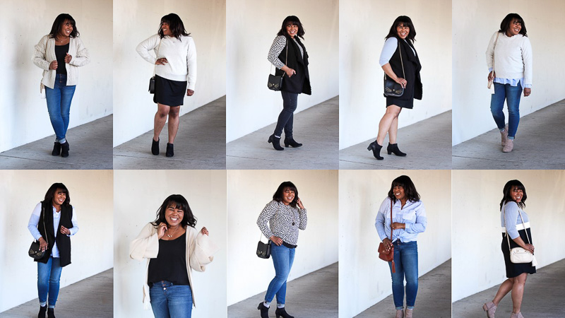 Today is the end of my spring wardrobe challenge where I took 10 pieces and created 10 entirely different looks. Keep reading for the full wardrobe recap.