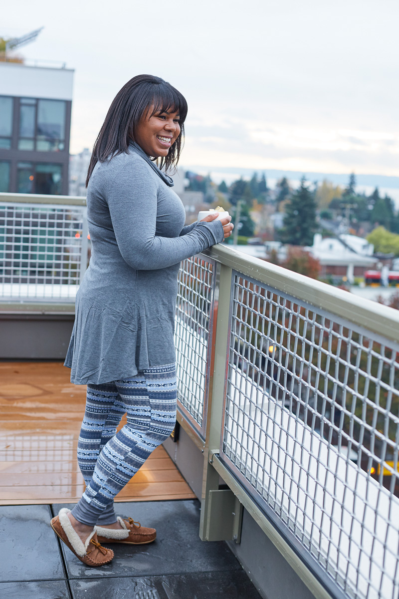 Unfortunately, I'm always cold and am constantly on the lookout for ways to stay warm.That's where Cuddl Duds comes in, they're my go-to for staying cozy!