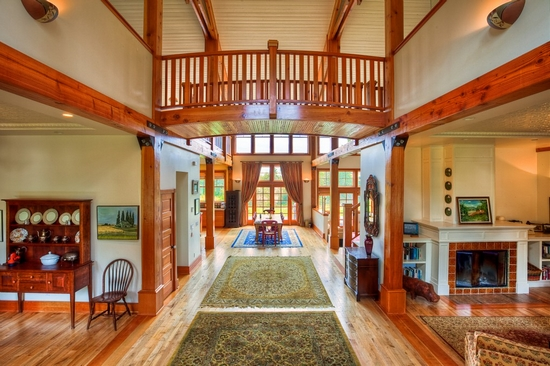 Architectural Beauty Indoor Treehouse Washington Lace