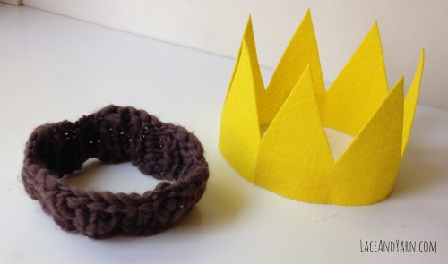 Where the Wild Things Are Max Costume Crown by laceandyarn.com