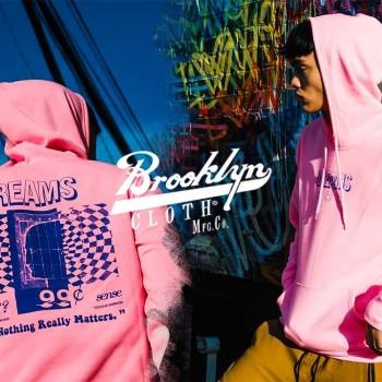 New limited edition streetwear hoodies shirts and other apparel fro spring 2020 from Brooklyn Cloth now featured on TheDrop.com.