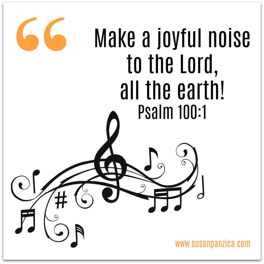 Make a joyful noise! – Laced With Grace