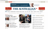 Newspaper is not just Newspaper - The Australian has a website too.