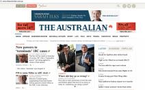 Newspaper is not just Newspaper - The Australian has a website too.